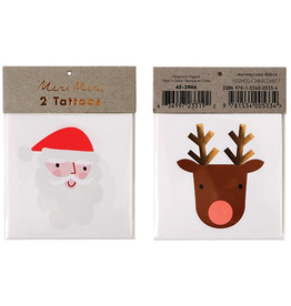 Santa Reindeer Tattoos