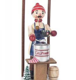 Glüwein / Mulled Wine Smoking (Incense) Man 21cm x 11cm