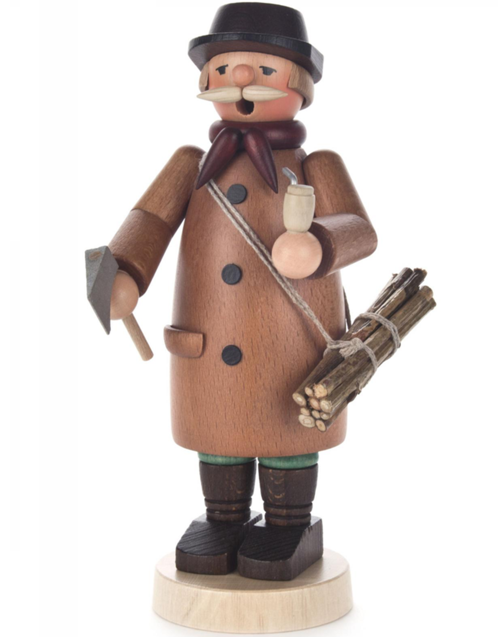 Lumberman Smoking (Incense) Man 18cm x 8cm