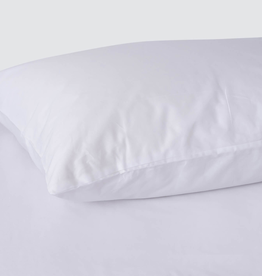 EQ3 Egyptian Cotton King Sheet Set-White