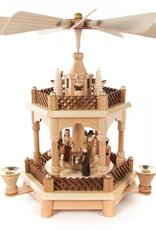 Nativity Pyramid, 2 Tier, 32 cm