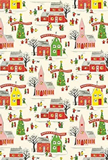 Christmas Village Wrap (Single Sheet)