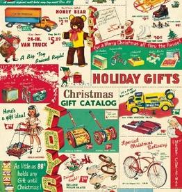 Vintage Toy Catalog Wrap - Single Sheet