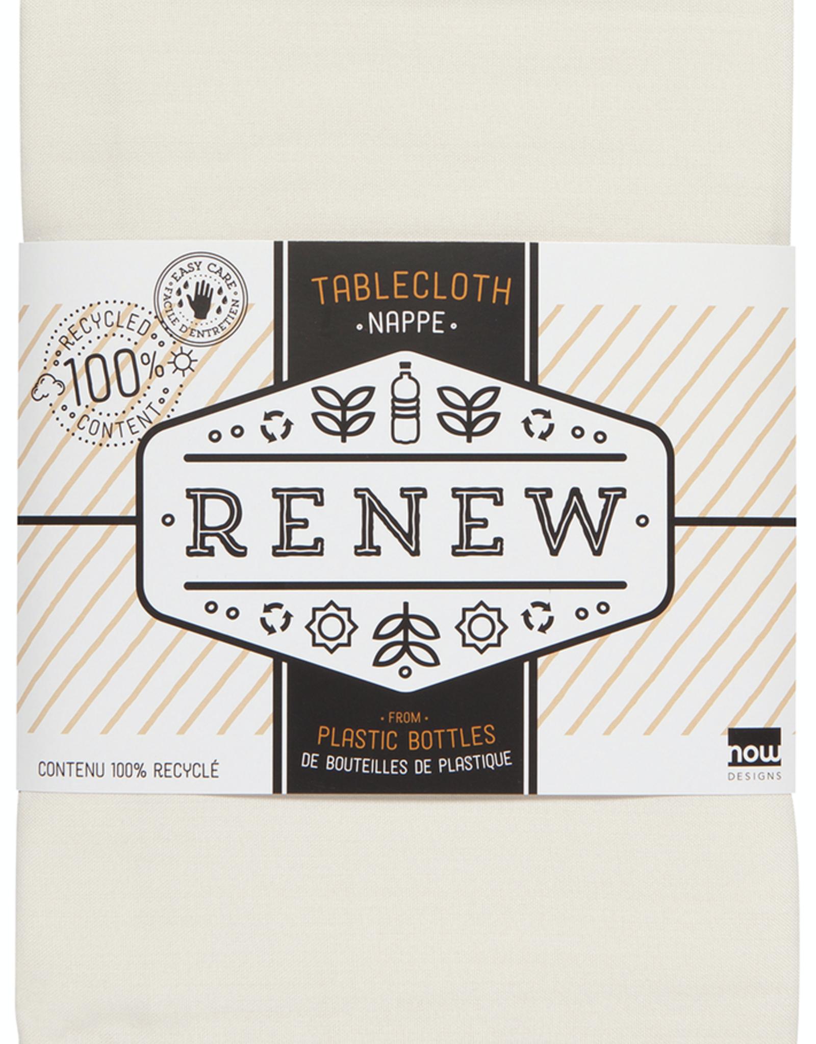 Renew Tablecloth Ivory 60x120