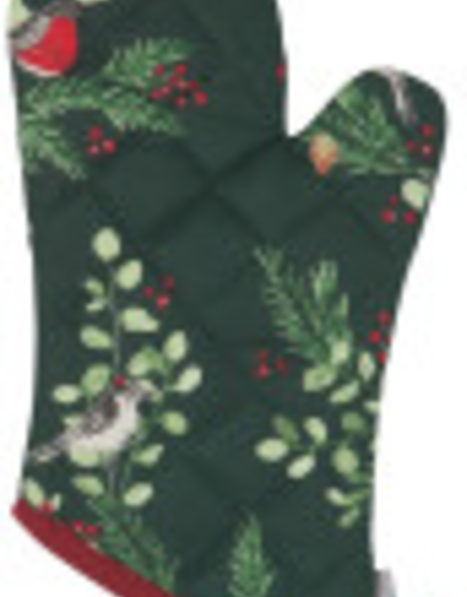 Forest Birds Oven Mitt (Single)