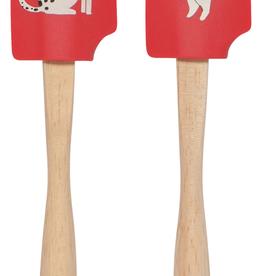 Yule Dogs Mini Spatula Set 2
