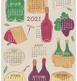 Wine Year 2021 Tea Towel