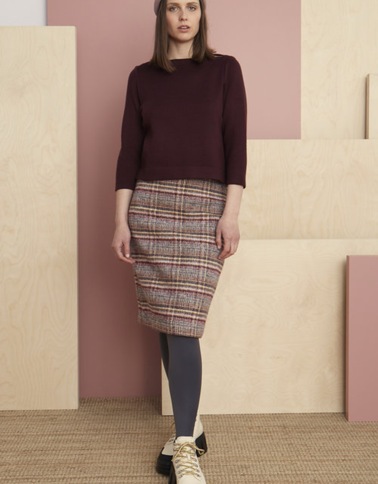 Hyde Tweed Skirt