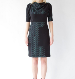 Smoking Lily Point Grey Dress - Periodic Table