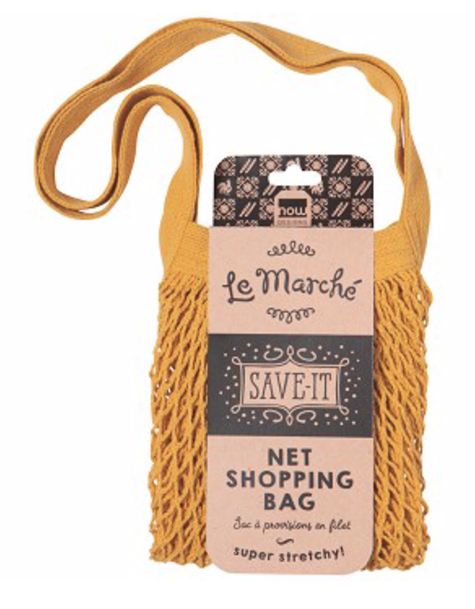 Le Marche Gold Shopping Bag