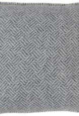 "Samba Cushion Lambswool, Grey 18x18"""