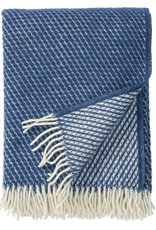 Velvet Lambswool Throw, Petrol