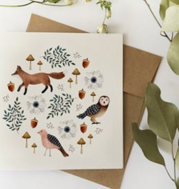 Fox & Owl Botanicals Card