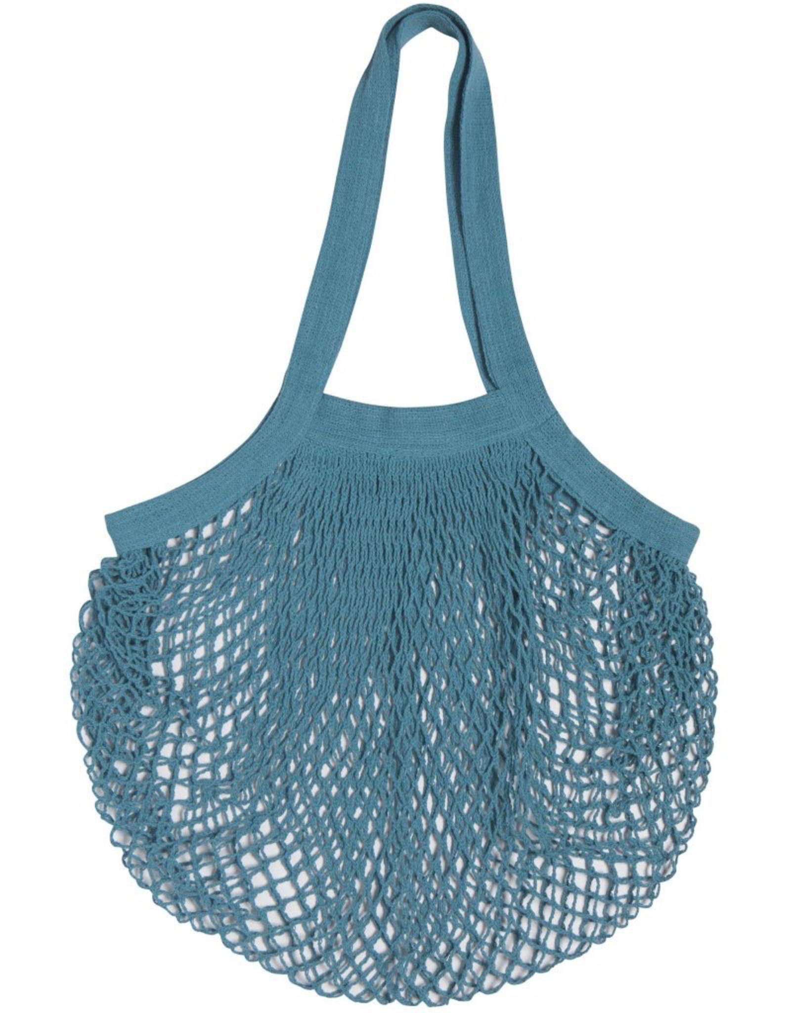 Le Marche Shopping Bag-Blue