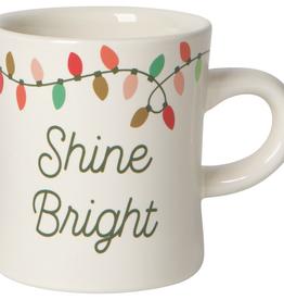 Christmas Lights Diner Mug