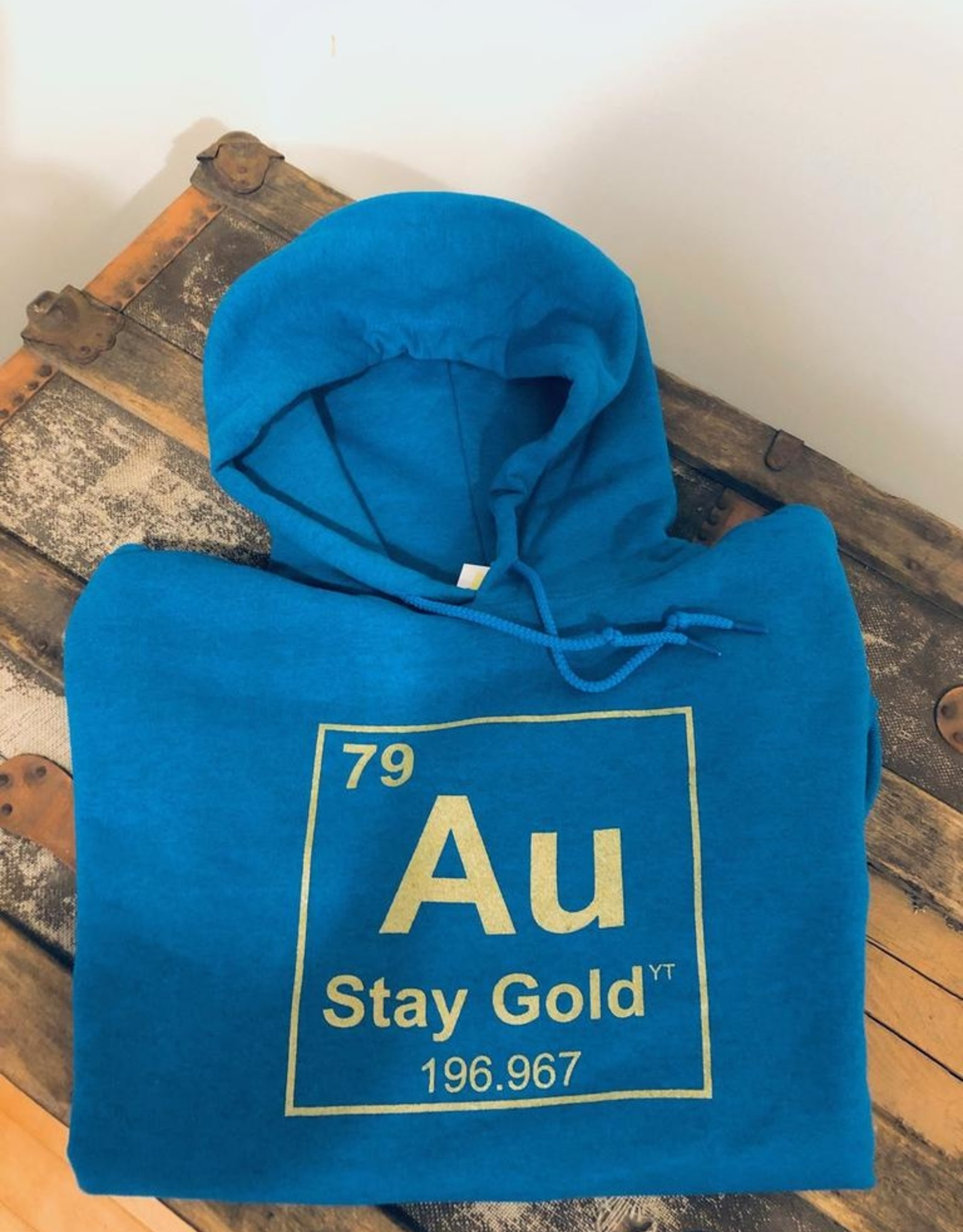 Stay Gold Hoodie-Adult