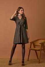 Alexis Dress Herringbone