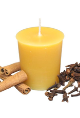 Beeswax Essential Oil Votive - Mulled Spice