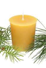 Beeswax Essential Oil Votive - Kootenay Forest