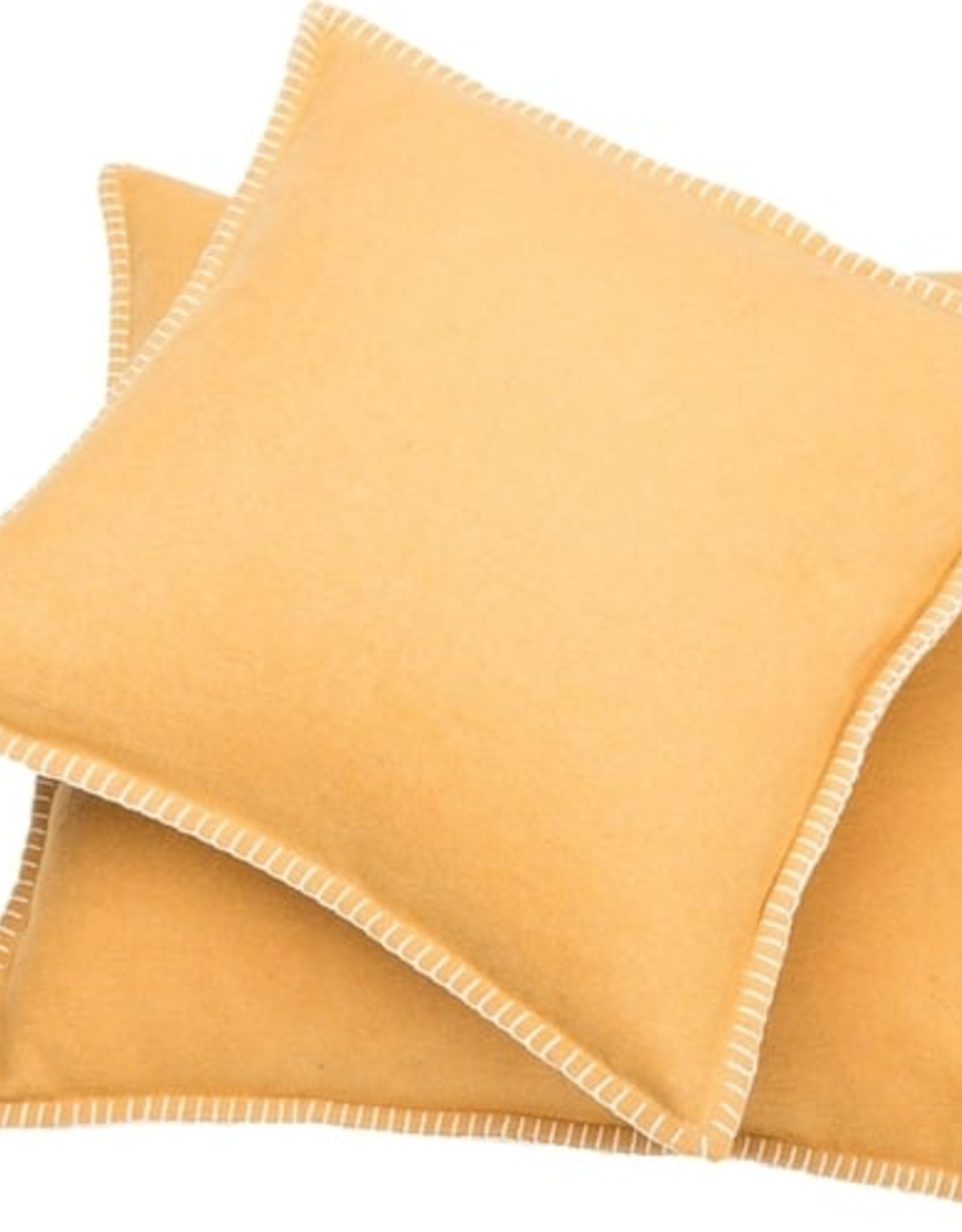 Blanket Stitch Cushion, Gold