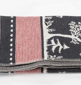 Alpine Forest Flannel Blanket