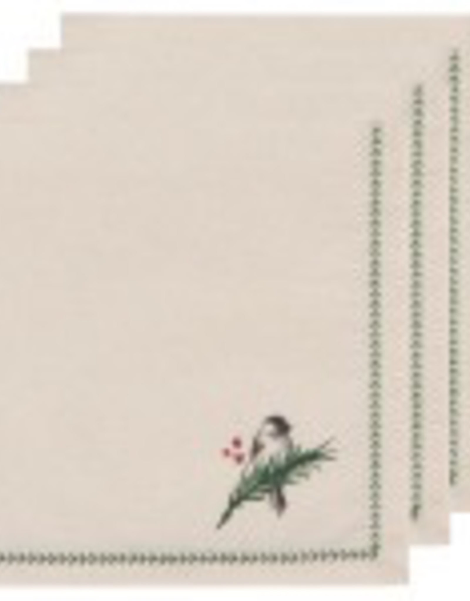 Forest Birds Napkins-Set 4