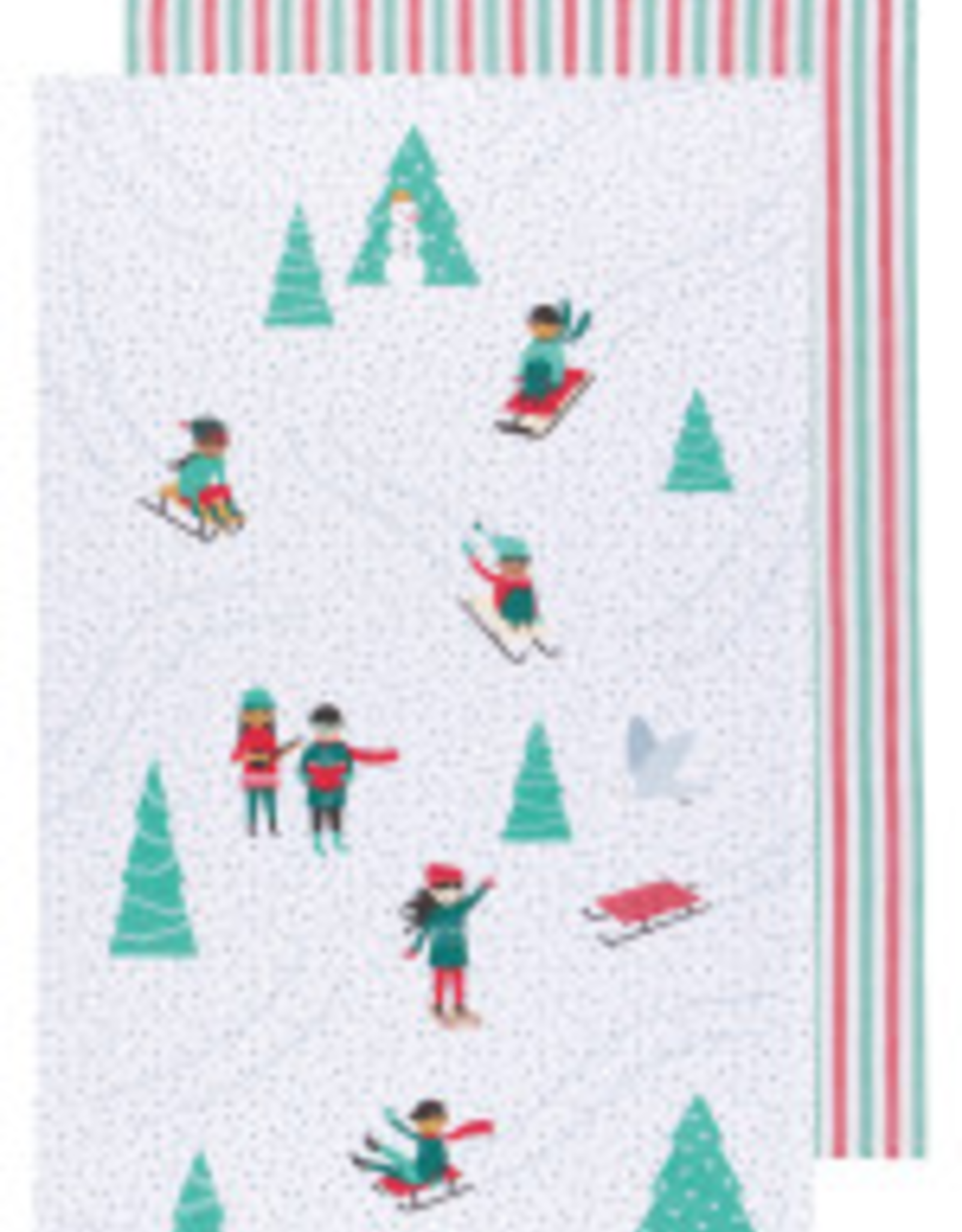 Snow Much Fun Tea Towel-Set 2