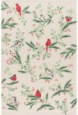Forest Birds Tea Towel