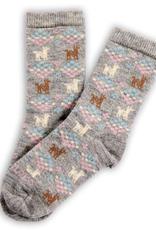 Polygon Alpaca Socks