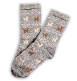 Polygon Alpaca Socks - Assorted