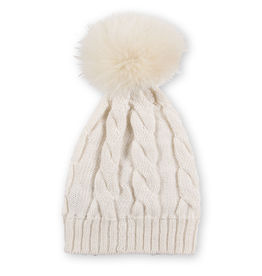 Alpaca Pom Pom Hat