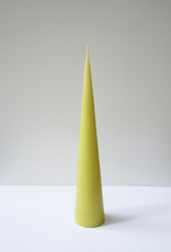 Cone Candle Small Dark Lime