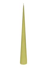 Cone Candle Medium - Dark Lime
