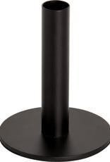 Metal Candle Holder, Black Large