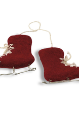 Felted Skates Red