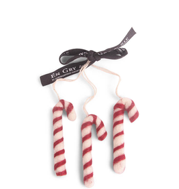 Felted Candy Canes, Set 3