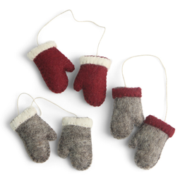 Felted Mittens Set 3