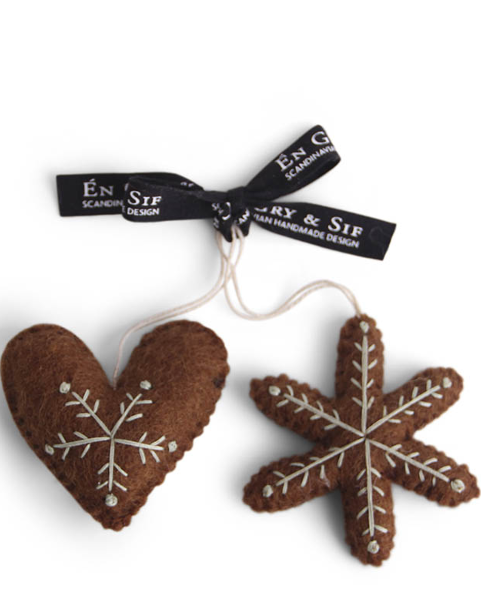 Gingerbread Heart & Star, Set 2