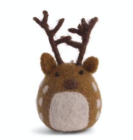 Felted Deer Ornament