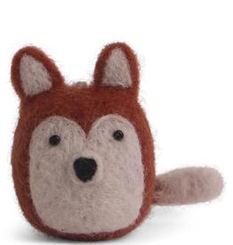 Felted Fox Ornament Mini