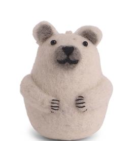 Felted Ice Bear Mini