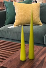 Cone Candle-Medium-Lime