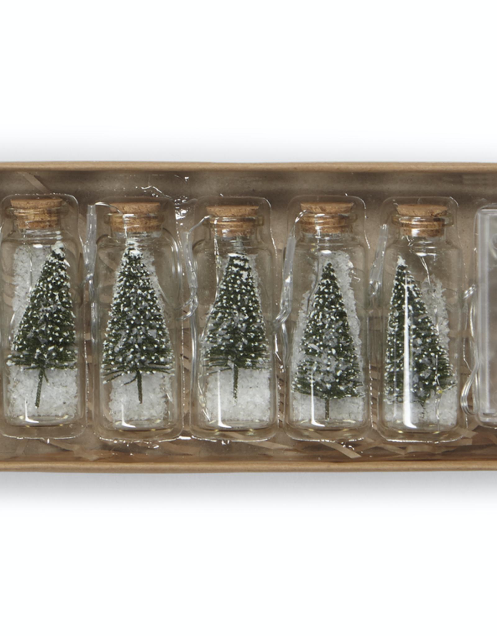 Festive Lights - Tree in a Jar - Green