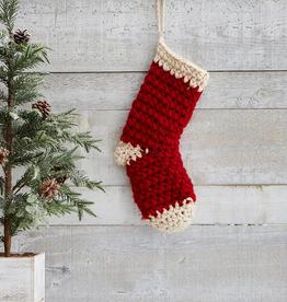"Knit Stocking, 10"" x 18"""