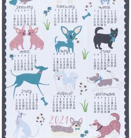 Canine 2021 Calendar Teatowel