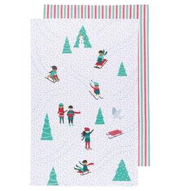 Snow Much Fun Tea Towel-Set 2