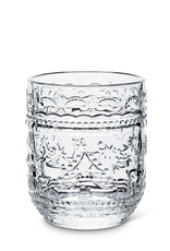 Etched Glass Tumbler