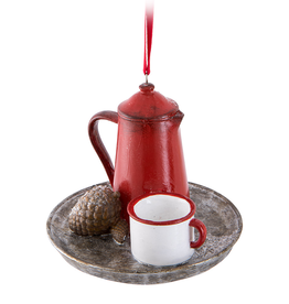 Coffee Pot Ornament