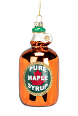 Maple Syrup Ornament Glass