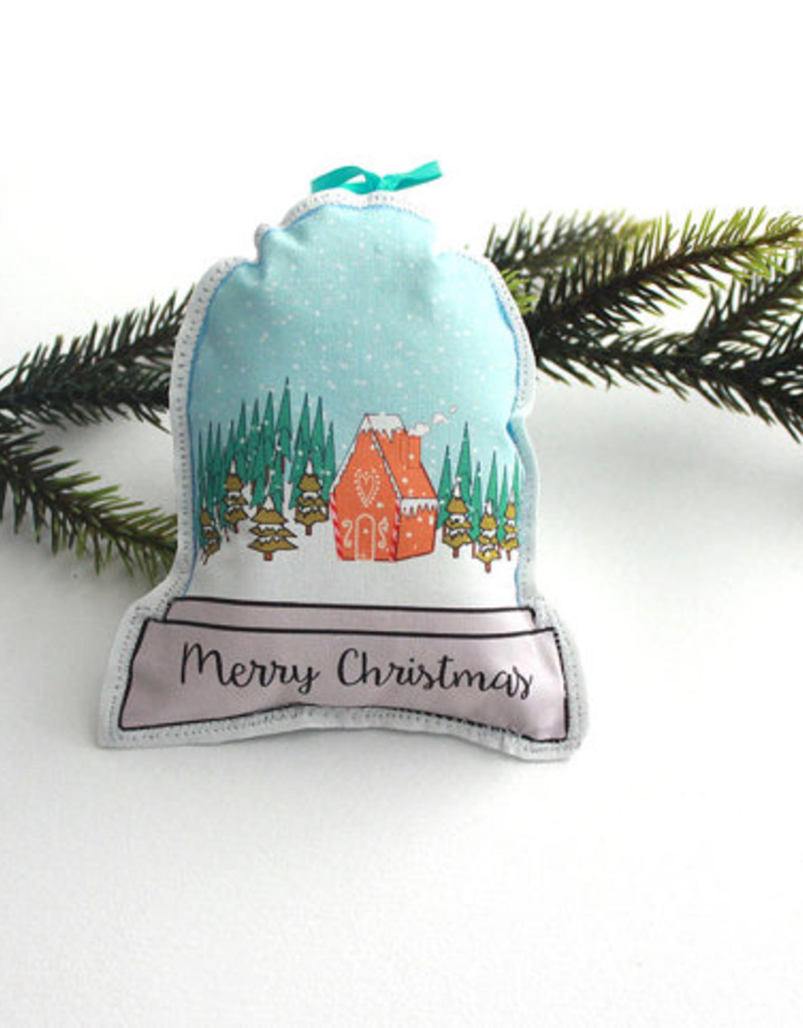 Snowglobe Ornament Assorted Single